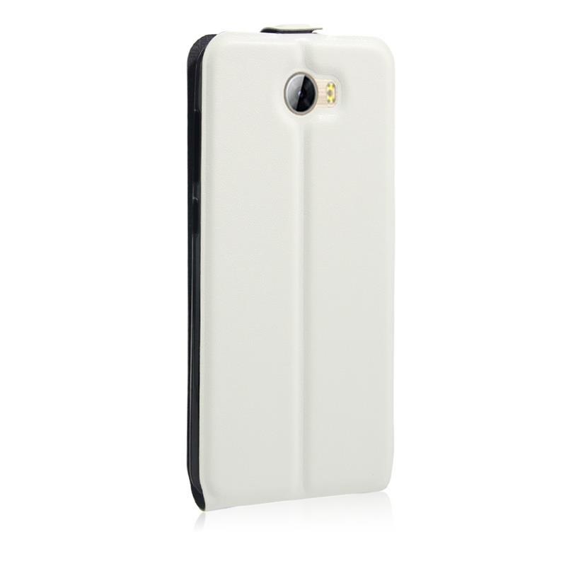 Huawei ascend y5 ii etui clapet slim blanc airflip2 for Housse huawei y5 ii