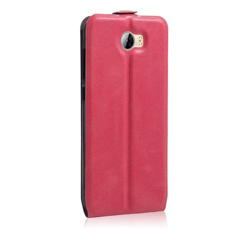 Huawei ascend y5 ii etui clapet slim rose airflip2 for Housse huawei y5