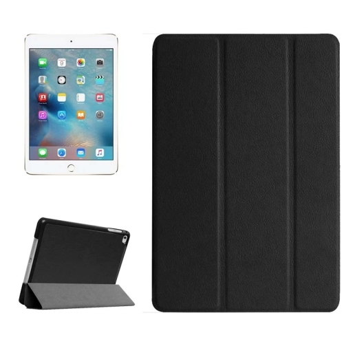 apple ipad mini 4 housse et support noir univertel. Black Bedroom Furniture Sets. Home Design Ideas