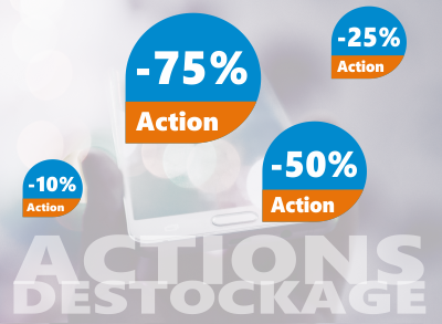 promotions liquidations actions déstockage