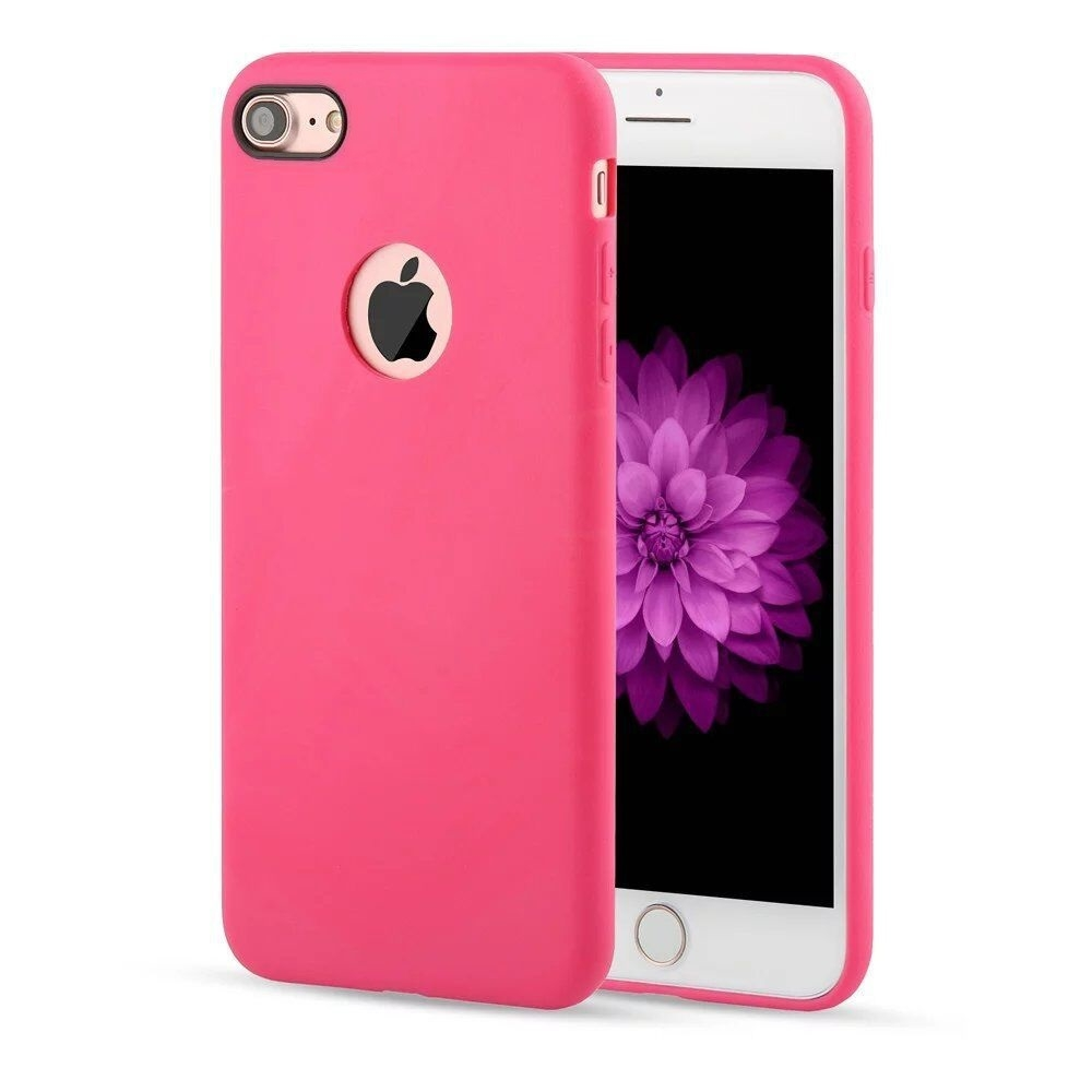 apple iphone 7 coque arri re souple rose airsoft luxe phonit univertel. Black Bedroom Furniture Sets. Home Design Ideas