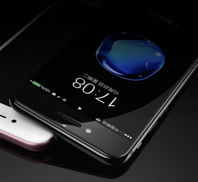 apple iphone 8 plus protection cran int grale en verre tremp blanc airglass 4d phonit. Black Bedroom Furniture Sets. Home Design Ideas