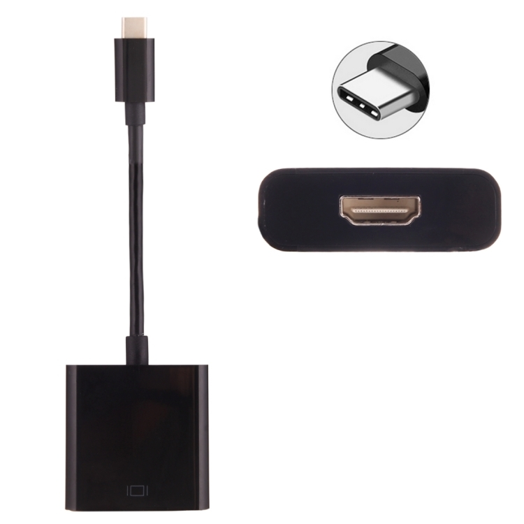 c ble adaptateur micro usb type c vers hdmi phonit univertel. Black Bedroom Furniture Sets. Home Design Ideas