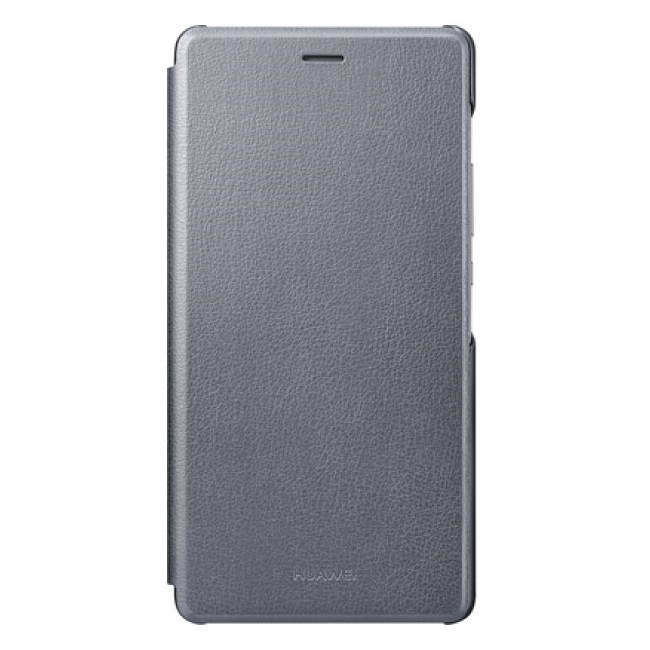 huawei ascend p9 lite etui folio clapet gris. Black Bedroom Furniture Sets. Home Design Ideas